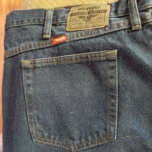 Big Men's Wrangler Jeans